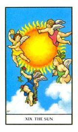 Il Sole - Mazzo Tarocchi Connolly
