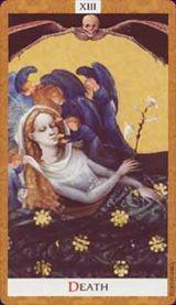La Morte - Mazzo Tarocchi Golden