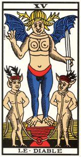 Il Diavolo - Mazzo Tarocchi Marsiglia o marsigliese