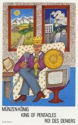 Re di Denari - Mazzo Tarocchi Neuzeit