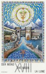 La Luna - Mazzo Tarocchi Neuzeit