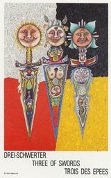 Tre di Spade - Mazzo Tarocchi Neuzeit