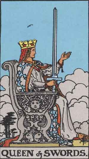 regina di spade,tarocchi
