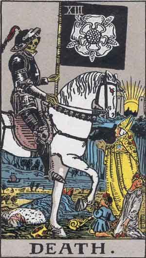 La Morte - Mazzo Tarocchi Rider Waite
