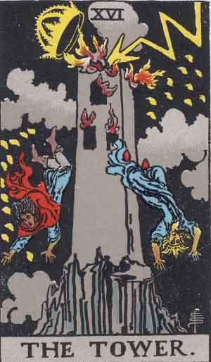 La Torre - Mazzo Tarocchi Rider Waite