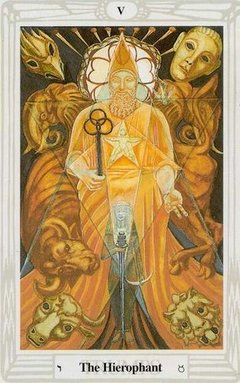 Ierofante Tarocchi Crowley Thoth