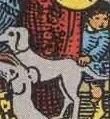 Il simbolo del Bambino nel 10 di Denari