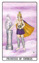 Principessa di Spade - Mazzo Tarocchi Golden Dawn