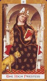 La Sacerdotessa - Mazzo Tarocchi Golden