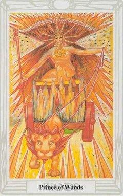 Principe di Bastoni Tarocchi Crowley Thoth