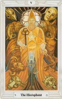 Ierofante Tarocchi Crowley Thoth
