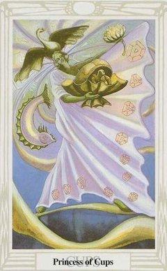 Principessa di Coppe Tarocchi Crowley Thoth