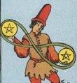 Il simbolo dell'Infinito nel Due di Denari