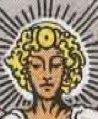 Simbolo del Sole nella Temperanza dei Tarocchi