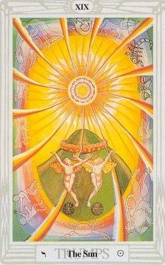Sole Tarocchi Crowley Thoth